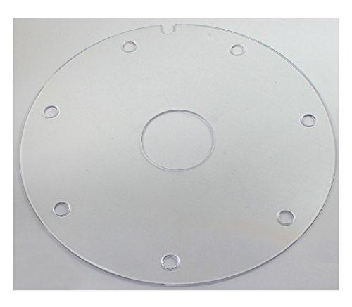 budawi® - Plexiglas Einlagen Ø 28 cm für Zimmerbrunnenschalen, Einlagen für Zimmerbrunnenschalen zubehör
