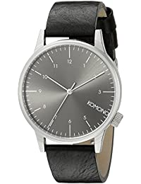 Komono Men's Analogue Quartz Watch with Polyurethane Strap – KOM-W2255