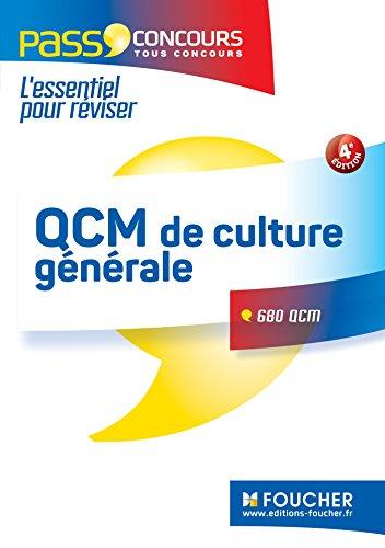 QCM de culture générale - Tous concours - Entraînement et révision - Pass'Concours Nº3 par Valérie Beal