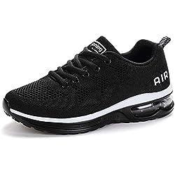 Unisex Zapatillas de Deporte Hombre Sneakers Mujer Calzado Deportivo Zapatos para Correr Running Cojín de Aire Monrinda