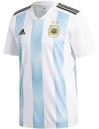 Adidas Argentina Camiseta de Equipación, Hombre, Blanco (azucla/Negro), ...