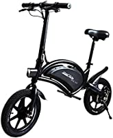 UrbanGlide Bike 140 Elektrische step voor volwassenen, uniseks, zwart, eenheidsmaat