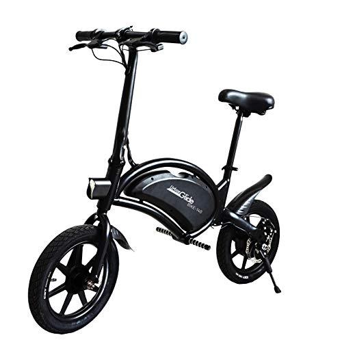 """Bicicleta eléctrica Urban Glide 140 Negro Aluminio 35,6 cm (14 """") Litio 15 kg - Bicicletas eléctricas (Litio, 6 Ah, 18 km, 36 V, 5 h, 15 kg)"""