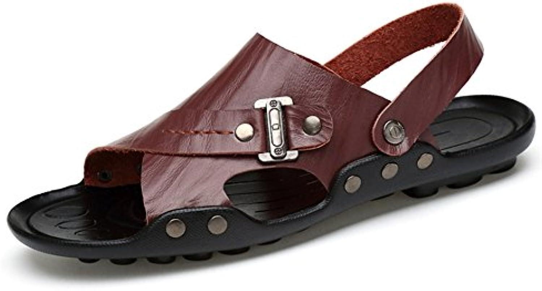 7476d14b519347 les sandales les sandales et et et feuillet de sports de plein air l'été  pantoufles (22.5-28.5) cm (de couleur marron, taille:...b07cwjmk84 parent |  La ...