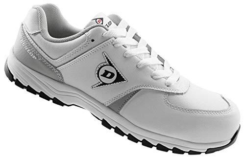 Dunlop Weiße Sicherheitsschuhe S3 - Malerschuhe Weiß Arbeitsschuhe mit Zehenschutzkappe Größe 40