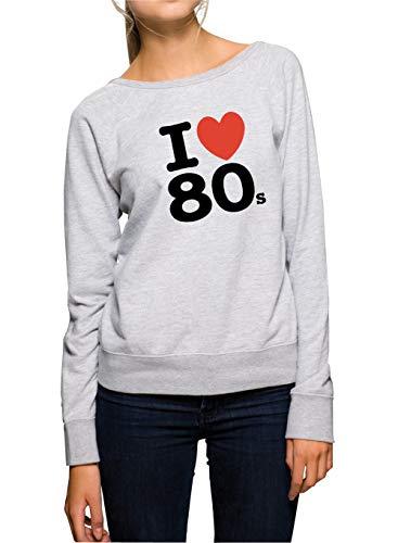 Certified Freak Love 80s Sweater Girls Grey M