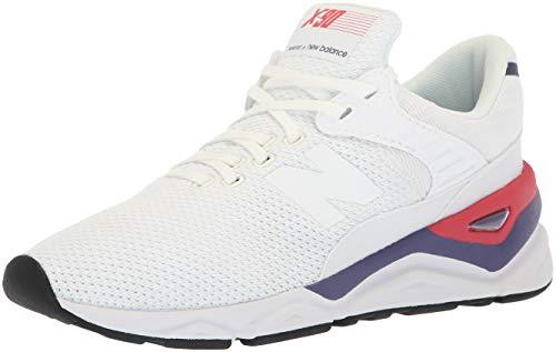 New Balance Damen X-90 Sneaker, Weiß (White Munsell/Wild Indigo Cla), 37.5 EU