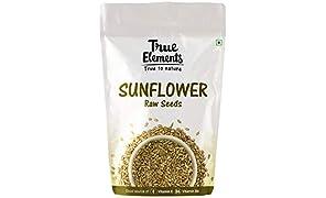 True Elements Raw Sunflower Seeds, Jumbo Seeds 250g