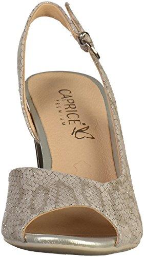 Caprice 9-28314-20 Femmes Sandale Gris