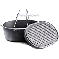 FORNO OLANDESE (DUTCH OVEN) IN GHISA OVALE - CAP. 9 LT
