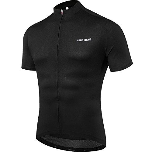 NOOYME (Mid-Year Sales Herren Fahrrad Trikot Kurz Ärmel Bike Shirt Atmungsaktiv Bedruckt Lange Ärmel Jersey Bike, Herren Jungen, N-1 Black, (Zoll Für Halloween Männer)