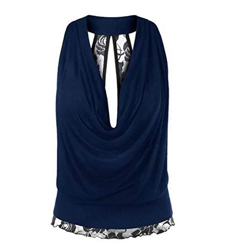 eies legeres Top Damen Sommer Rückenfrei T-Shirt Sexy Oberteile Bluse Top mit Kurzarm Damen Sommer Rückenfrei T-Shirt Sexy Oberteile Bluse Top mit Kurzarm ()