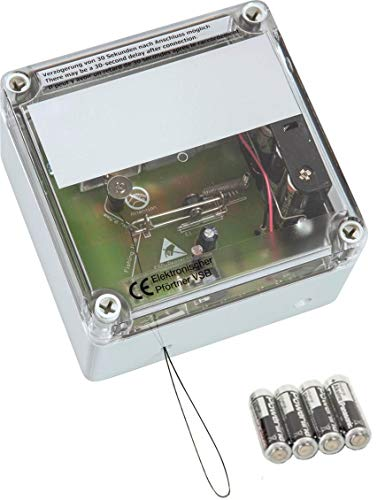 AXT-Electronic VSBb - Elektronischer Pförtner, automatische Hühnerklappe, Hühnertür mit Batterien