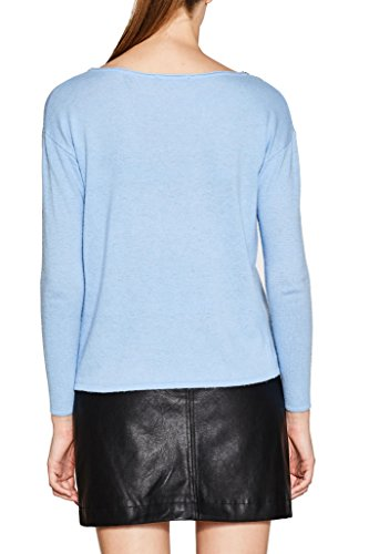 ESPRIT Collection Damen Pullover Blau (Light Blue 5 444)