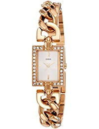 Guess Damen-Armbanduhr Analog Quarz Edelstahl W0540L3