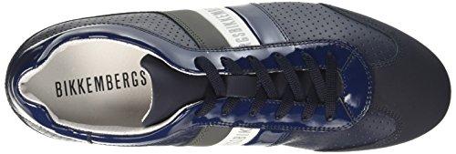 Bikkembergs Springer 099, Sneakers basses homme Bleu (Blue/grey)