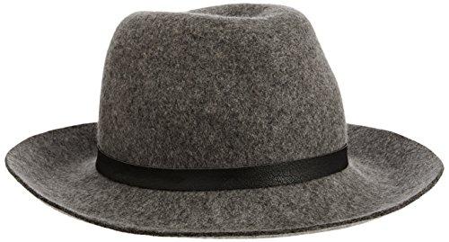french-connection-christie-sombrero-de-fieltro-para-mujer-gris-mercury-mist-talla-unica