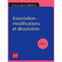 Association : modifications et dissolution