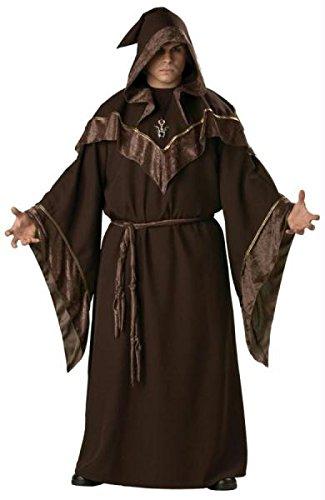 Magier - Hexenmeister - Größe: XX-Large (Erwachsene Hexenmeister Kostüme)