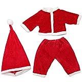 Holatee TrajedeModa 3 Piezas Ropa de Navidad+Pantalones+Sombrero...