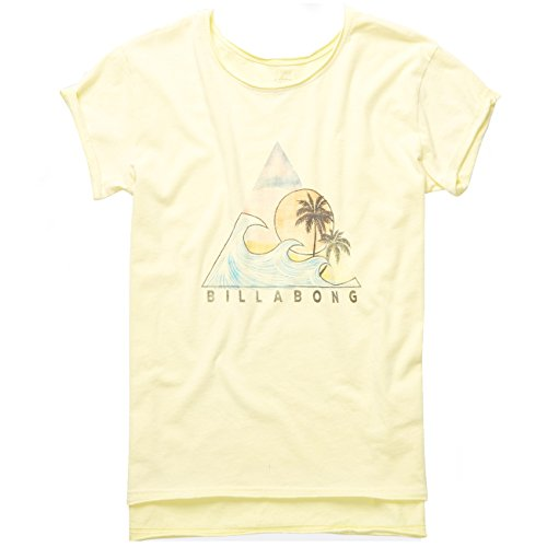 Billabong Damen T-Shirt SURF SERIES - SUNKISSED , Größe:L (Surf-gelb T-shirt)