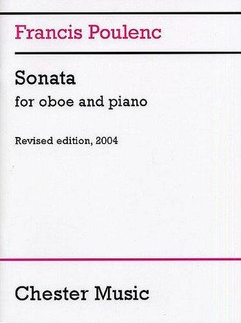 CHESTER MUSIC POULENC FRANCIS - SONATA - OBOE, PIANO Klassische Noten Oboe