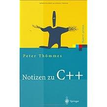 Notizen zu C++ (Xpert.press)