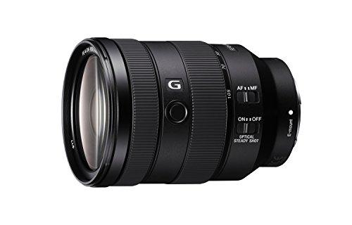 Sony SEL-24105G G Standard Zoom-Objektiv (24-105 mm, F4, OSS, Vollformat, geeignet für A7, A6000, A5100, A5000 und Nex Serien, E-Mount) schwarz (Tasche Sony A7r Kamera)