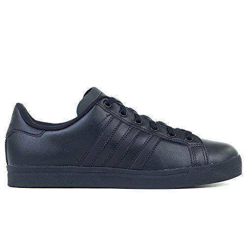 adidas Unisex-Kinder Coast Star J Sneaker, Mehrfarbig Core Black/Grey Six Ee9700, 38 2/3 EU -