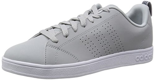 adidas Advantage Clean VS, Sneakers Basses Homme, Gris (Clear Onix/Clear Onix/Ash Blue S15-ST), 46