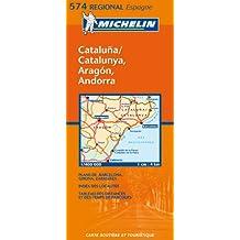 Carte RGIONAL Aragon,Cataluna, Catalunya