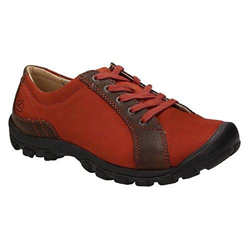 Sisters on slip keen chaussures de loisirs pour femme schlüpfschuh, mocassins homme-noir/marron Rouge - Rouge