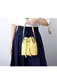 2a654ef4d4739 LF fashion bag Sommer Kleine Tasche Mini Eimer Tasche Neue Weibliche  Kordelzug Umhängetasche Messenger Tasche Leder
