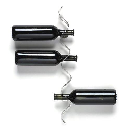 Black Blum Flow Wine Rack