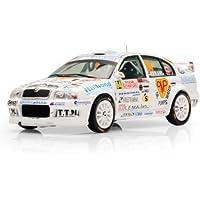 IXO 1/43 Skoda Octavia WRC No64 Rally Monte Carlo 2008 (japan import)