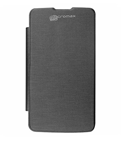 TBZ Flip Cover Case for Micromax Canvas Power A96 -Black  available at amazon for Rs.249
