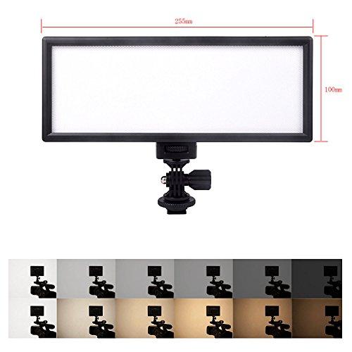 VILTROX L132T CRI95 5600K/3300K Luce video LED Illuminazione della fotocamera Per Canon Nikon Pentax Olympus Samsung Panasonic DSLR Videocamere DV Videocamere