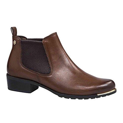 Caprice Damen 25413 Chelsea Boots Braun (5)