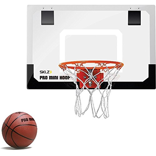 SKLZ Pro Mini Basketball Hoop mit Ball (45,72 x 30,48 cm)