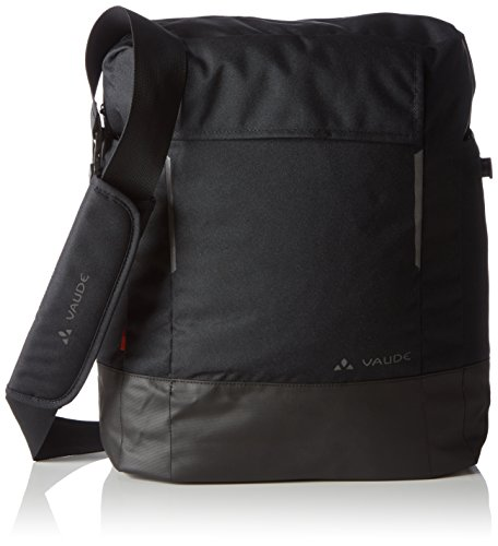 Vaude Radtasche Cyclist Bag, Black, 4 x 33 x 12 cm, 14 Liter, 12180