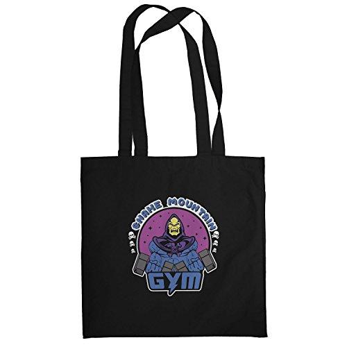 Texlab–Snake Mountain Gym–sacchetto di stoffa Nero