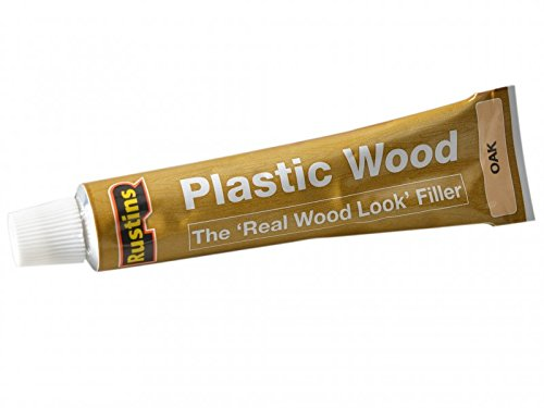 Rustins 5015332220069 Plastic Wood - Oak