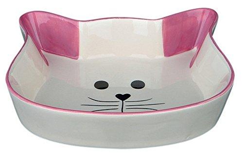 Trixie Attraverso ceramica, Viso Gatto, 0.25 L / ø 12 cm