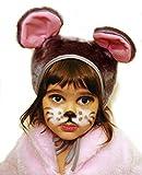 SIA COLLA-S Faschingskostüm Maus Mütze mit Ohren Kinderkostüm Kappe Hut Maus Karneval Kostüme für Kinder Festtage Größe S/M Geschenk