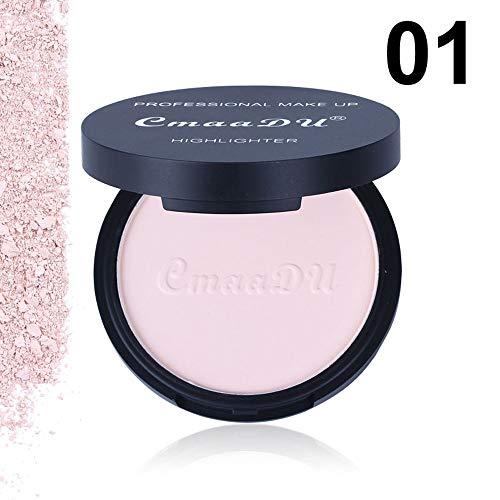 TWBB_ Liquide Couverture Palette de Maquillage Poudre Compacte Poudre Pressée Fonds de Teint Naturelle Make Up Palette Professionnel Beauté Cosmétique Set
