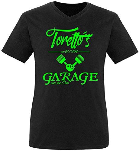 ezyshirtr-torettos-garage-herren-v-neck-t-shirt