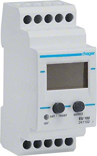 HAGER EU102 - RELE CONTROL MONOFASICO 15/480VAC/15/700VCC