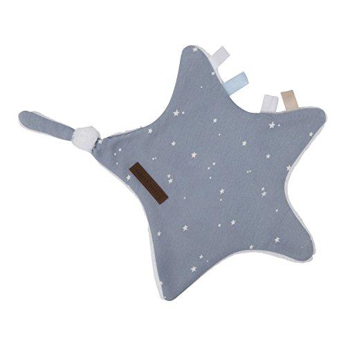 LITTLE DUTCH 6349 Schmusetuch / Kuscheltuch Stern little stars blau