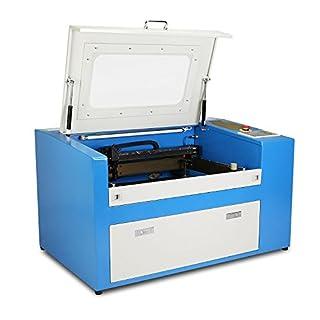 Buoqua 50w USB CO2 laser graviermaschine 300 x 500mm Laser Engraving maschine usb-anschluss Schneiden Dickenschnitt 10mm graviergerät (50w)