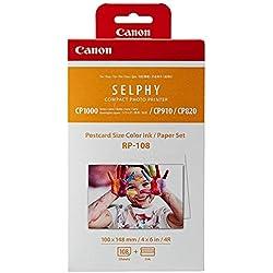 Canon rp-108 - Papier de format 4R + cartouche d'encre - 108 Papiers